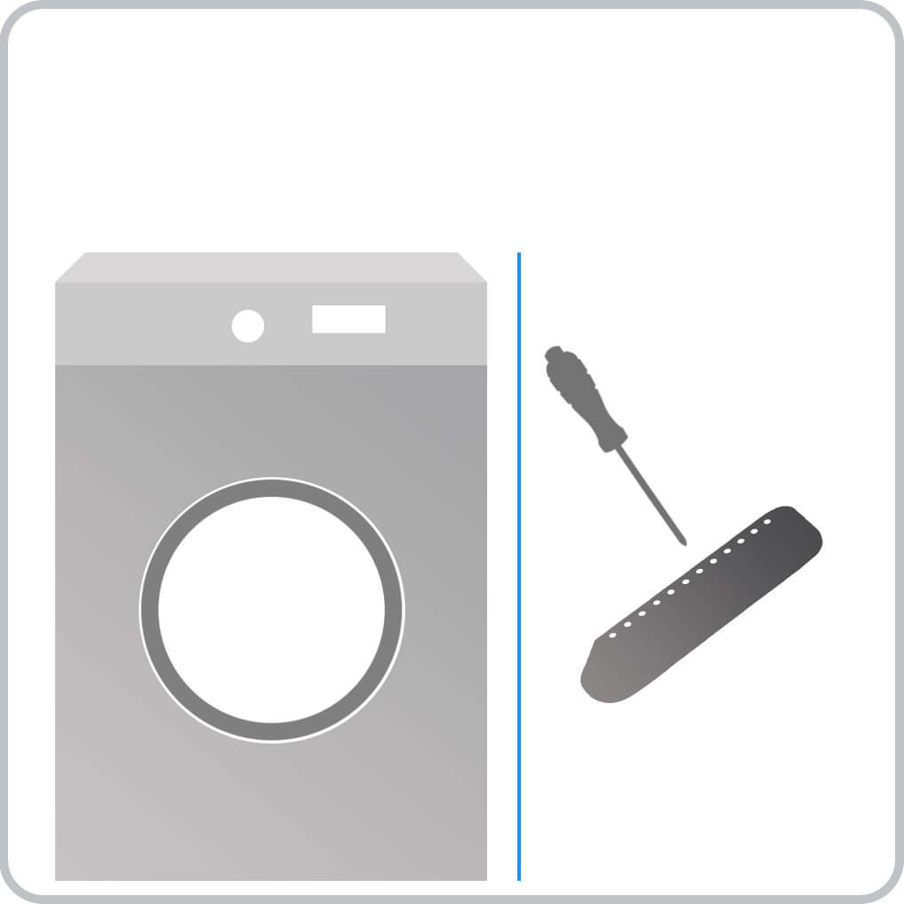 How To Replace The Drum Paddle On A Hotpoint Washer Dryer